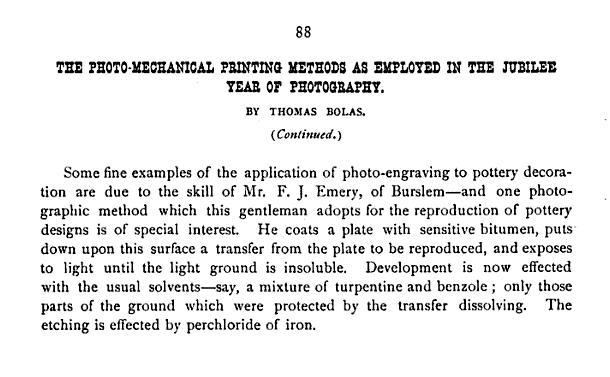 "1890 ""Anthony's Photographic Bulletin, Volume 21"""