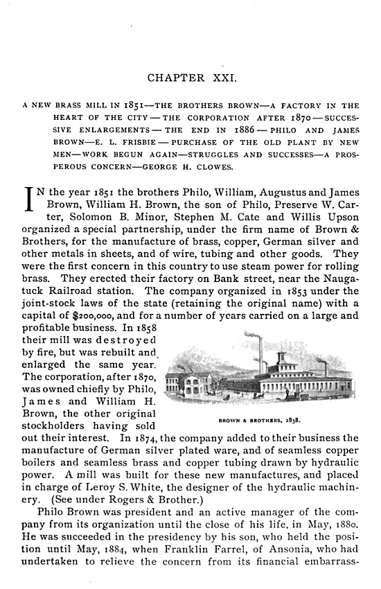 1896 The Town and City of Waterbury, Connecticut, Volume 2 pg343