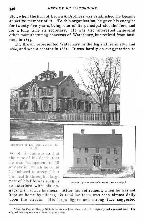 1896 The Town and City of Waterbury, Connecticut, Volume 2 pg346